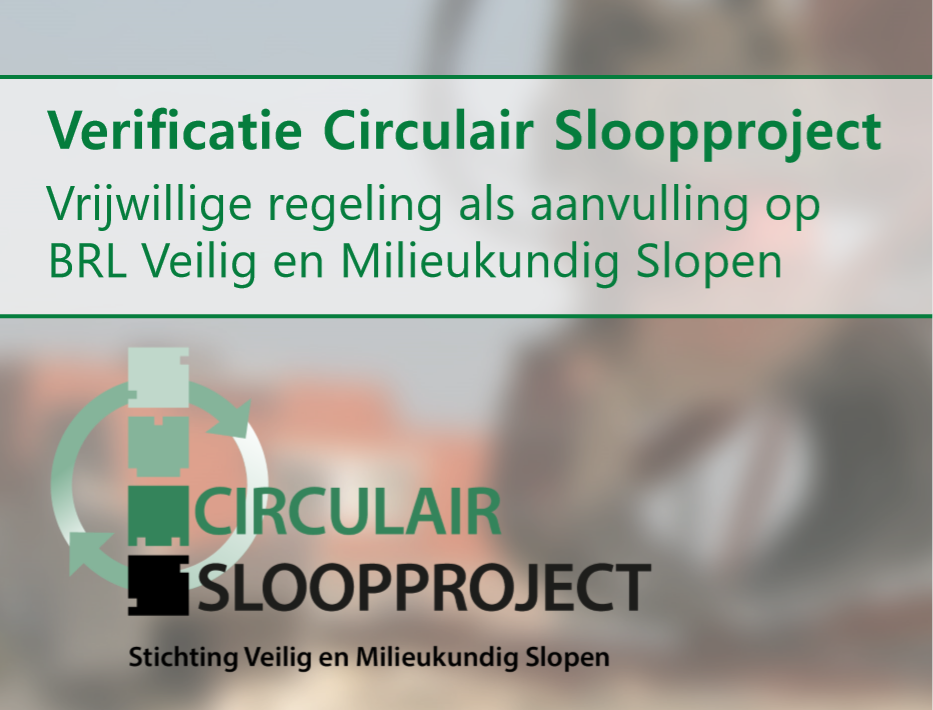 Verificatie Circulair Sloopproject